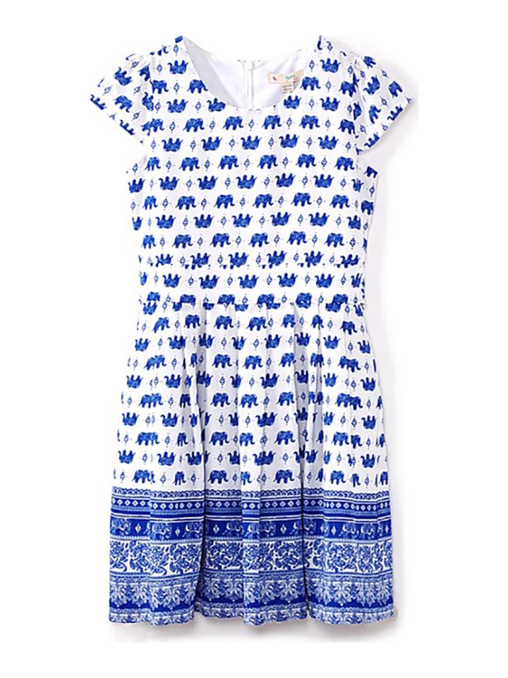 Yumi Girl Kleid in blau -61% | Größe 122/128 Casual Kleider Sale Angebote Bagenz