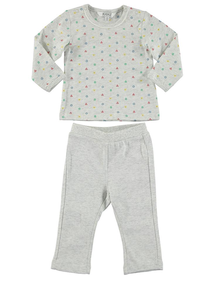 Kanz 2tlg. Outfit in creme -44% | Größe 92 Longsleeve Sale Angebote Türkendorf