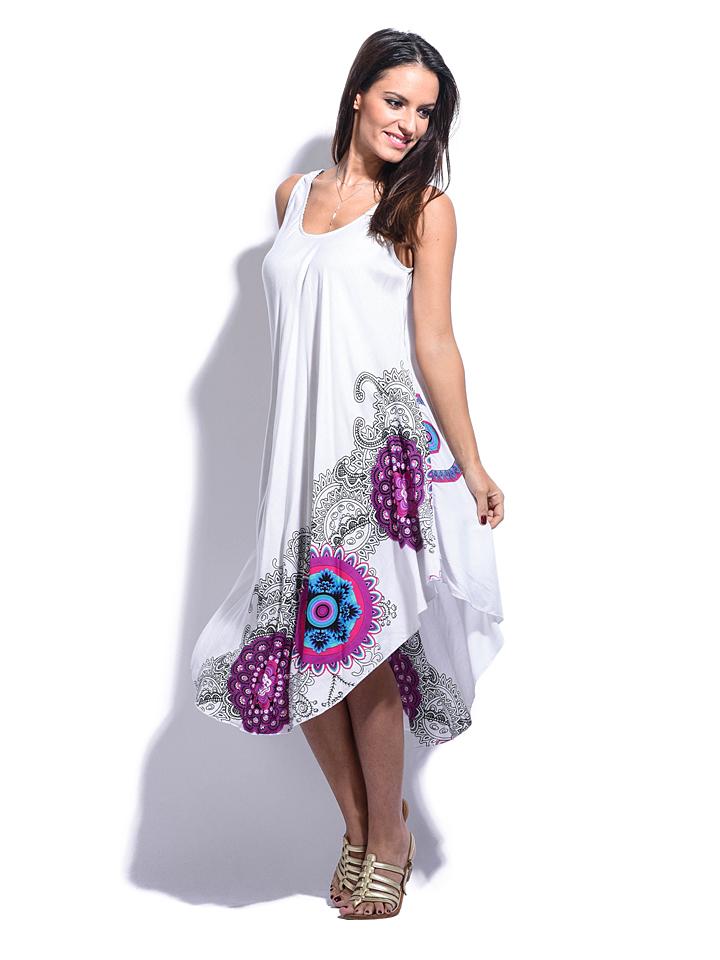 Namaste Kleid Capucine in weiß -74% | Größe 34-38 | Kleider