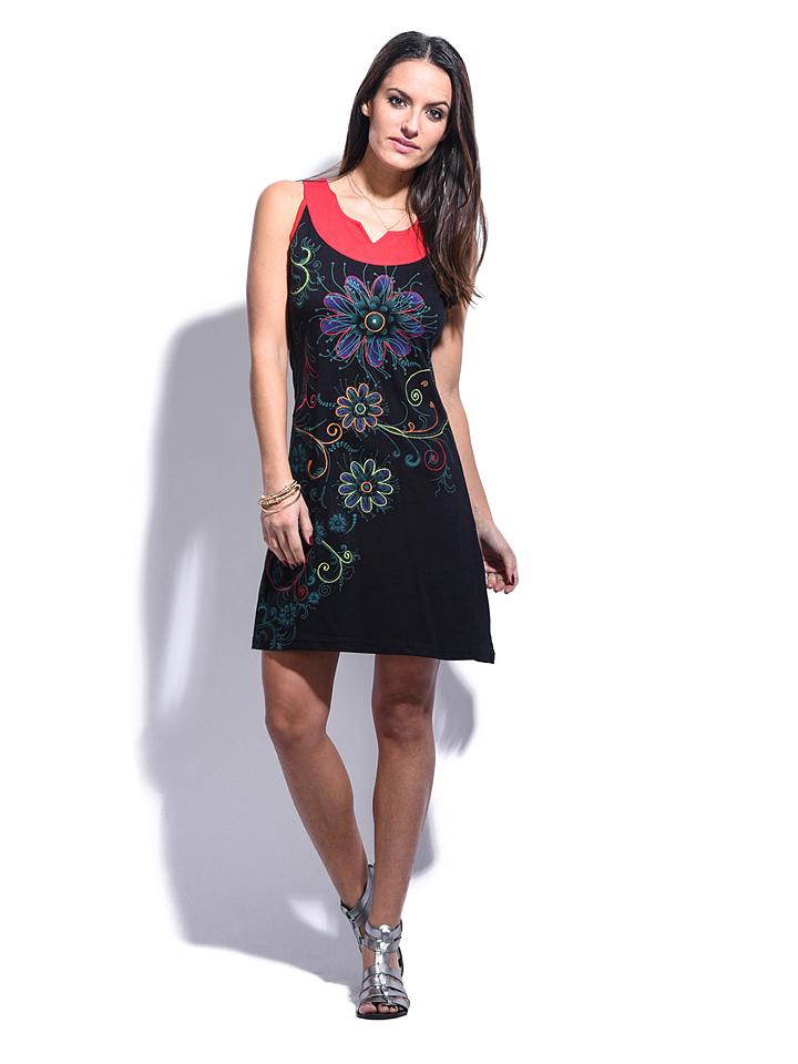 Namaste Kleid ´´Soline´´ in schwarz -58% | Größe 38/40 Kurze Kleider Sale Angebote Schwarzheide