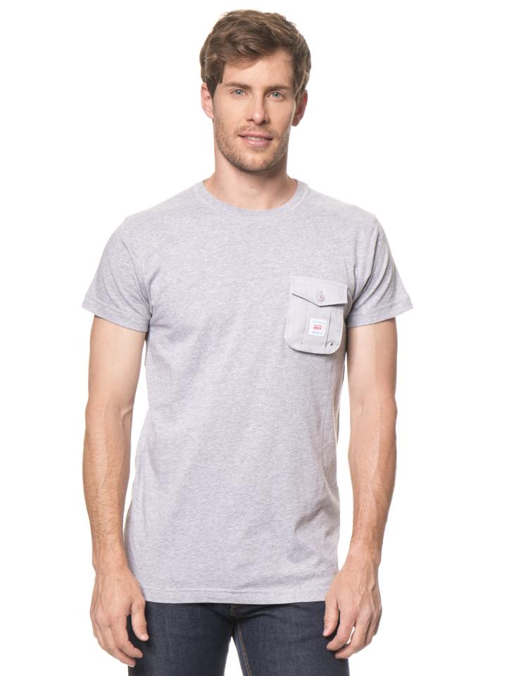 Reef Shirt ´´X´´ in Hellgrau - 57% | Größe L Herrenshirts