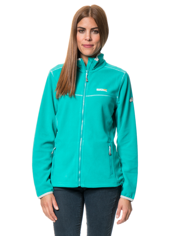 Regatta Fleecejacke ´´Floreo II´´ in Türkis - 59% | Größe 42 Damen outdoorjacken