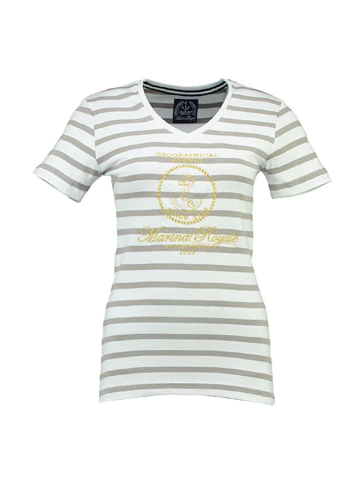 Geographical Norway Shirt ´´Jaffar´´ in Hellgrau -61% | Größe XL T-Shirts Sale Angebote Hermsdorf