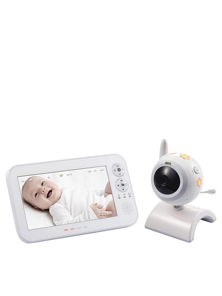 Switel Video-Babyphone ´´BCF 930´´ in Weiß -10% | Babyartikel Sale Angebote Wiesengrund