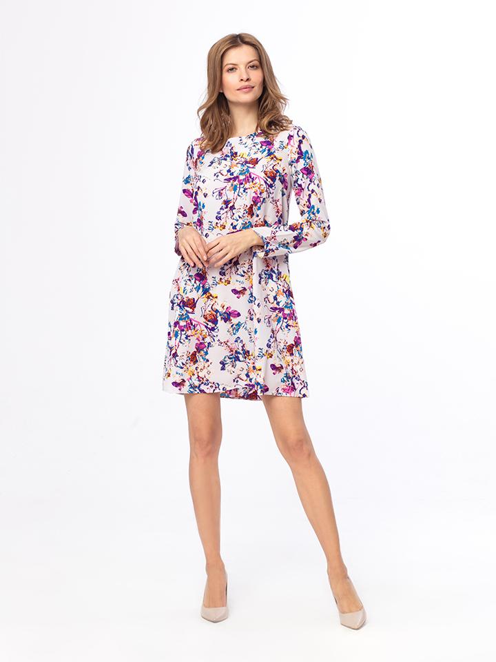 Kabelle Kleid in flieder -61% | Größe XL Kurze Kleider Sale Angebote Bagenz