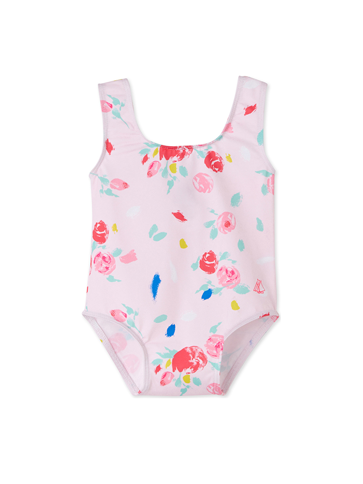 PETIT BATEAU Badeanzug in rosa -52%   Größe 86 Badeanzüge Sale Angebote Hohenbocka