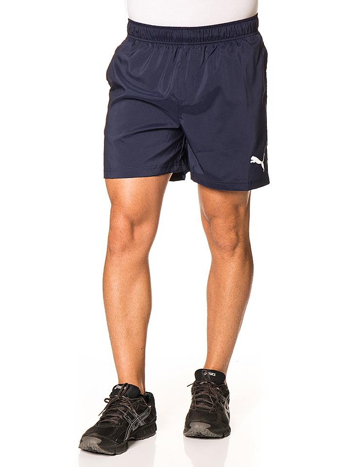 Puma Short in Blau -43% | Größe M Shorts Sale Angebote Schwarzheide