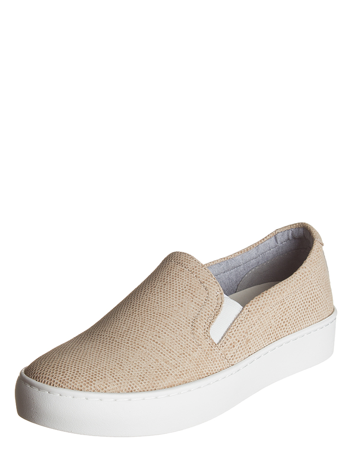 Vagabond Leder-Slipper ´´Zoe´´ in Beige - 39 Größe 38 Damen slipper