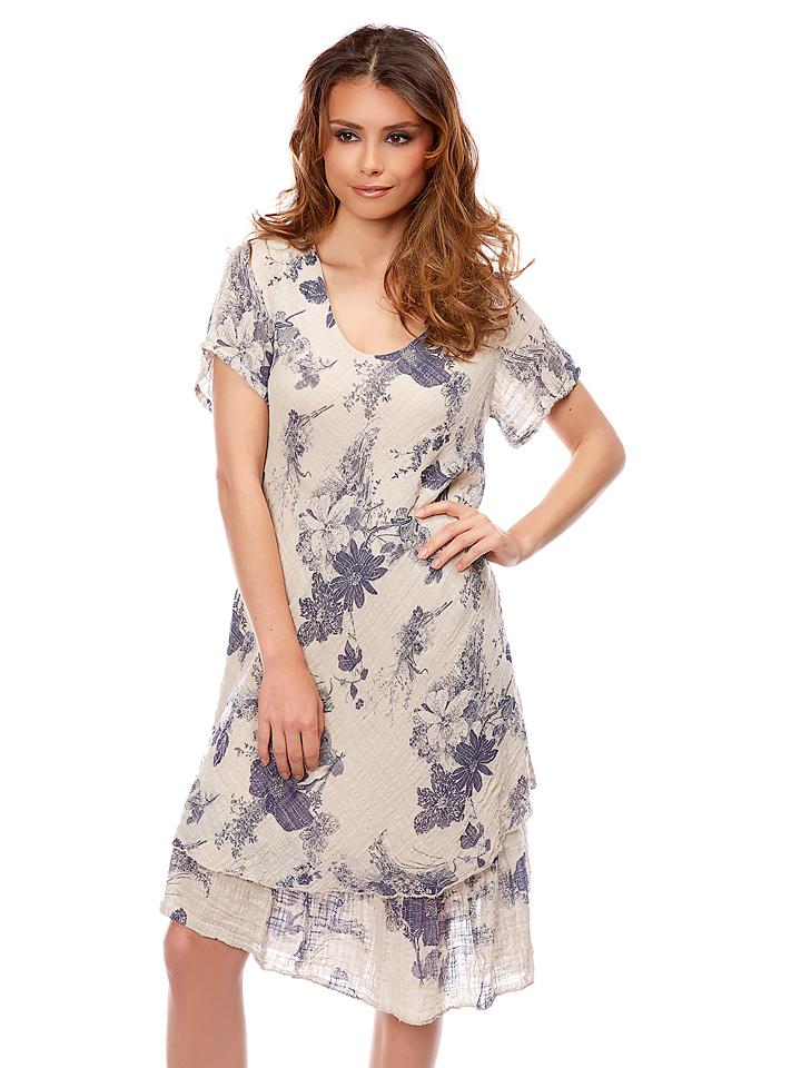 Bagatelle Kleid ´´Melancolie´´ in beige -64%   Größe 36 Casual Kleider Sale Angebote Schipkau