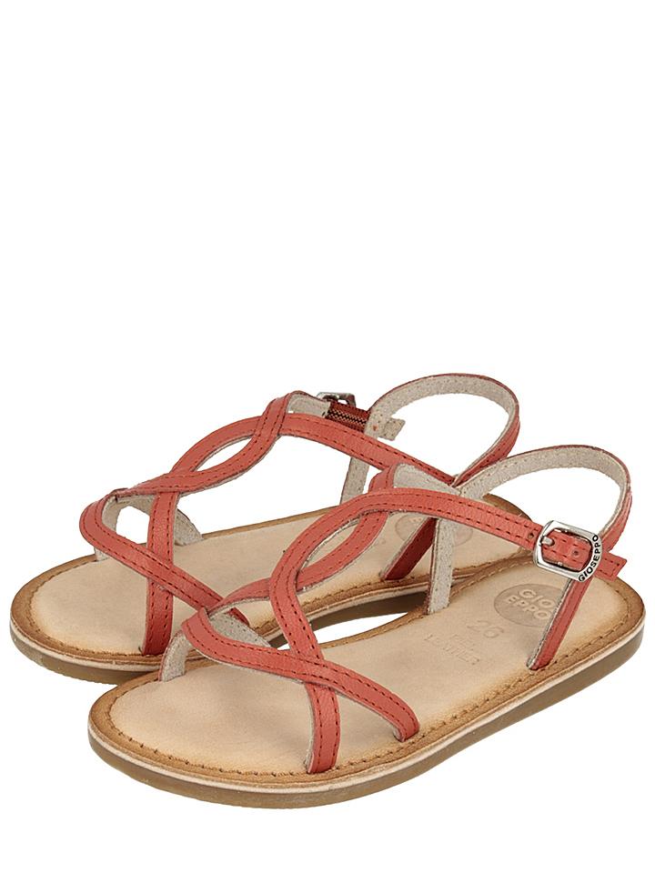 Gioseppo Leder-Sandalen ´´Yaztiria´´ in rot -59% | Größe 30 Sandaletten