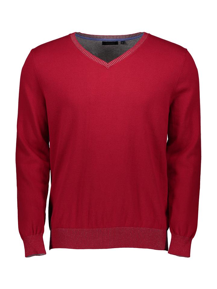 Schiesser Pullover in Rot - 43% | Größe 52 | He...
