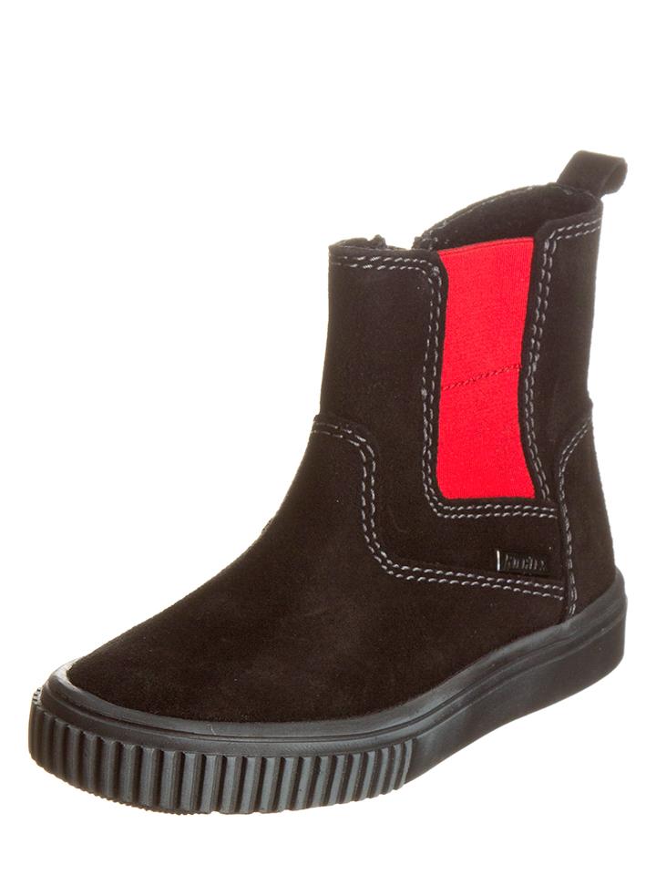 Richter Shoes Leder-Boots in Schwarz -33% | Größe 40 Boots