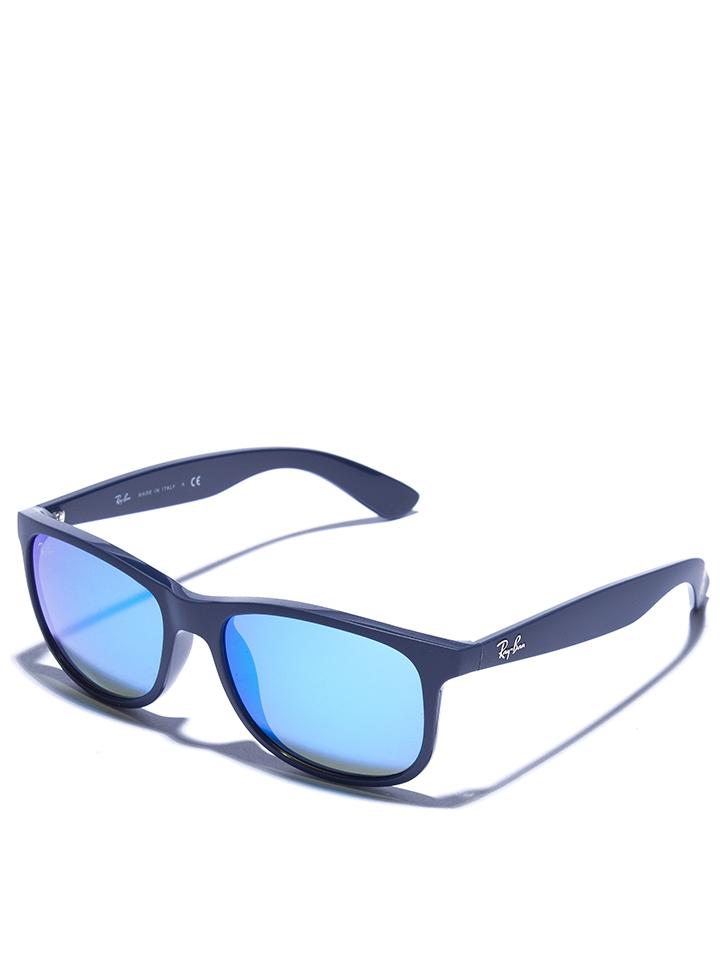 Ray Ban Herren-Sonnenbrille ´´Andy´´ in Dunkelblau - 26% | Größe 55 Herren sonnenbrillen