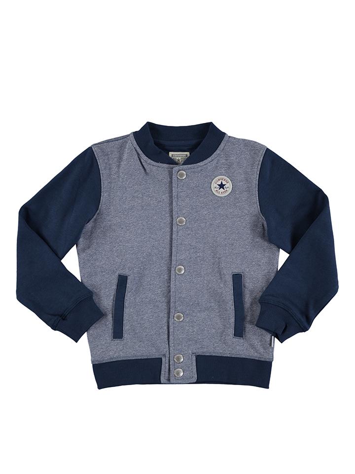Converse Jacke in Blau -68% | Größe 152/158 Kurze Jacken Sale Angebote Cottbus