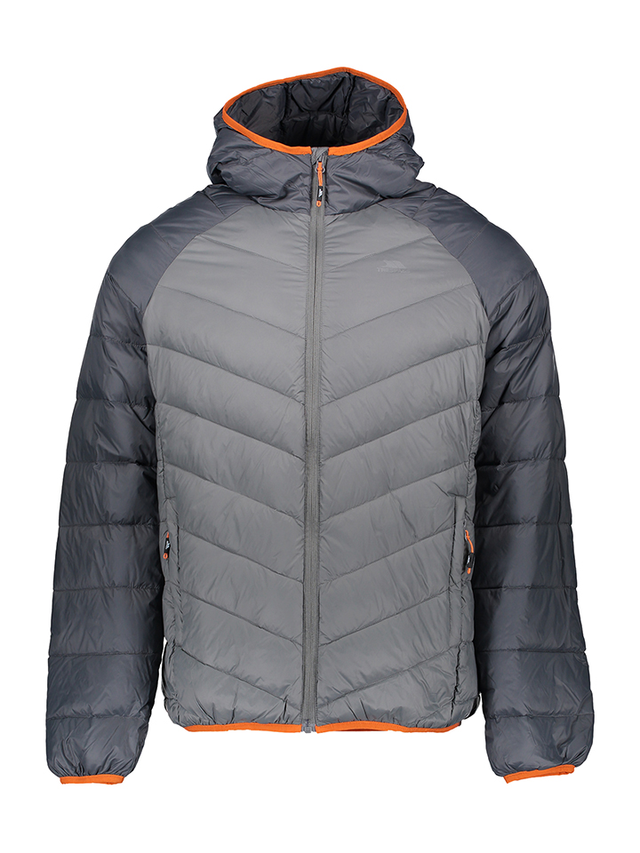 Trespass Daunenjacke ´´Rusler´´ in Grau - 70% | Größe M Herren outdoorjacken