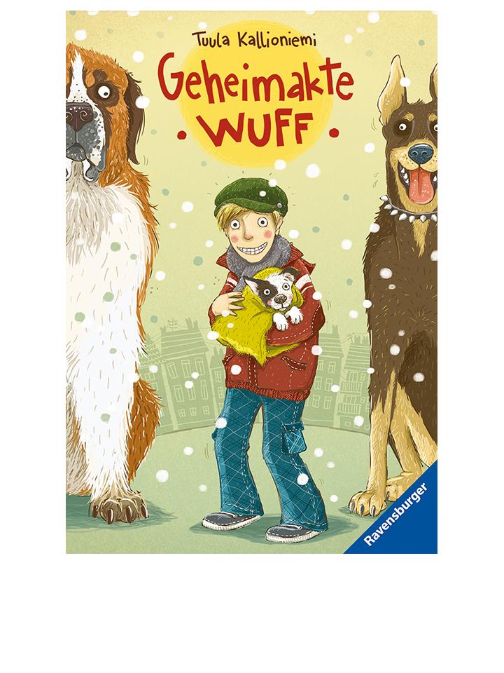 Ravensburger Kinderroman Geheimakte Wuff - 57% | Kinderbuecher