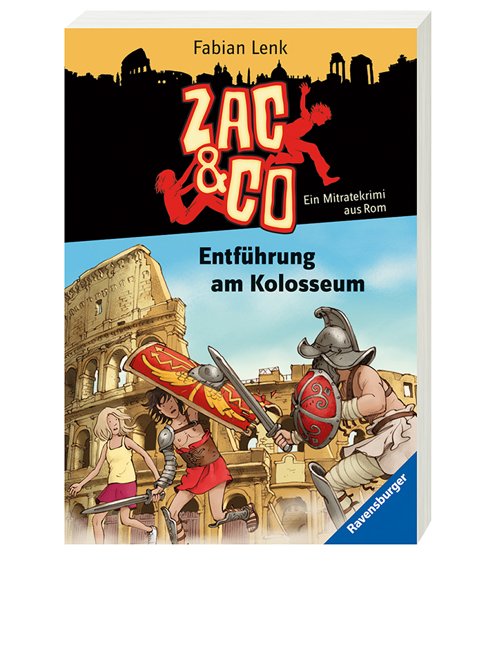 Ravensburger Mitratekrimi Entführung am Kolosseum, Band 8 - 50% | Kinderbuecher