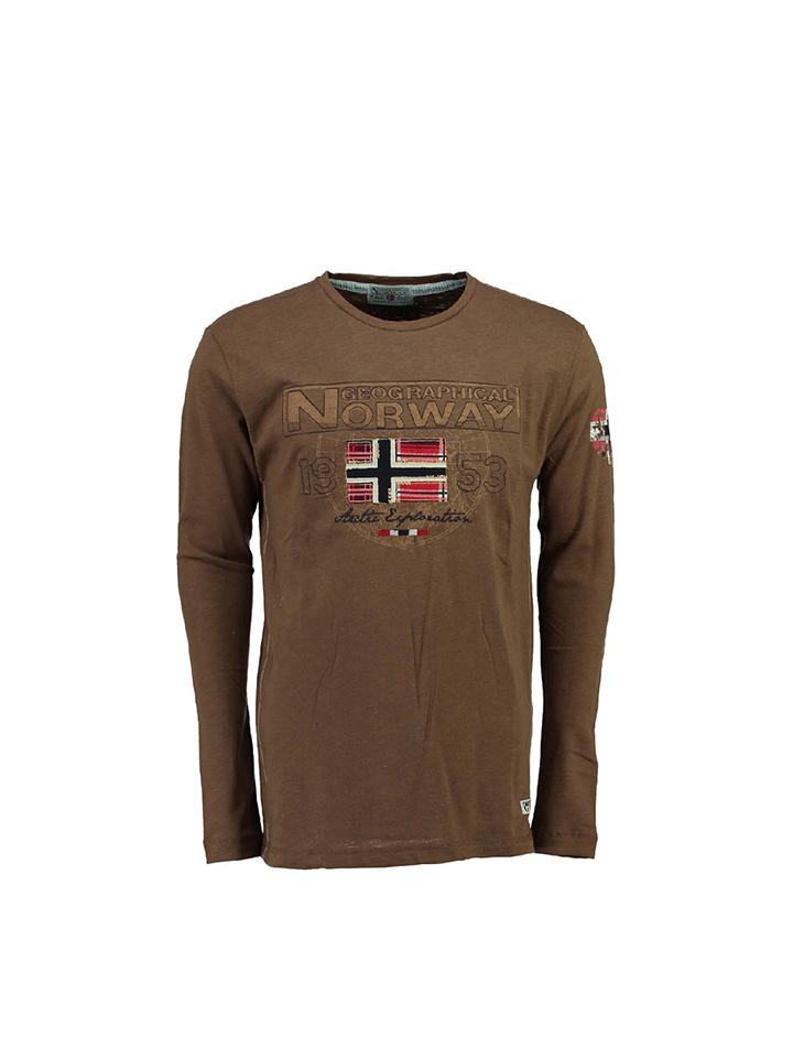 Groß Döbbern Angebote Geographical Norway Shirt ´´JLacier´´ in Taupe - 62% | Größe 152 Kinder oberteile