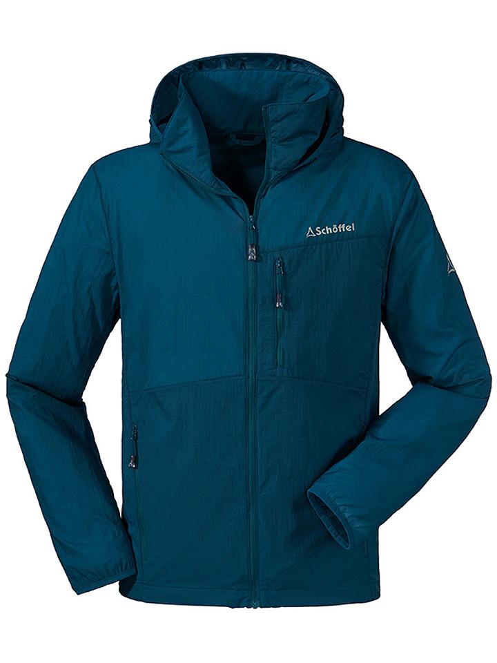 Schöffel Funktionsjacke ´´Windbreaker Jacket M´´ in Türkis - 55% | Größe 54 Herrenjacken