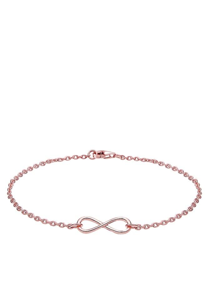 Julie & Grace Silber-Armkette mit Schmuckelemen...
