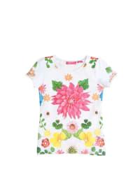 """Cakewalk T-Shirt """"Koemi"""" in weiß/ bunt"""