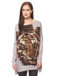 """Vero Moda Pullover """"Jungle"""" in Grau"""