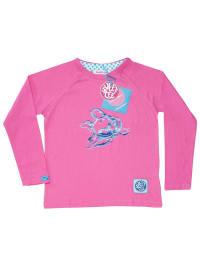 """Patooka Longsleeve """"Fabulous Fish"""" in pink"""