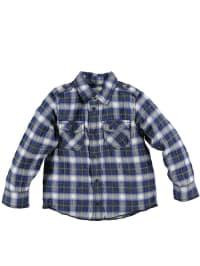Diesel Kid Hemd in Blau/ Grün