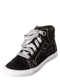 Richter Shoes Ledersneakers in schwarz