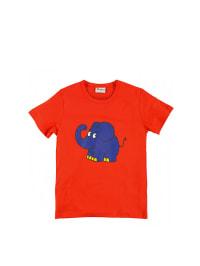 """Die Maus Shirt """"Elefant"""" in rot"""