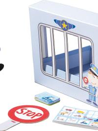 """Haba 5tlg. Spielbox """"Polizeiwache"""" - ab 3 Jahren"""
