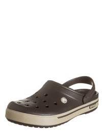 "Crocs Clogs ""Crocband II.5"" in Braun/ Beige"