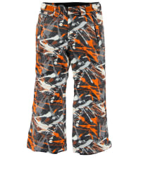 "Icepeak Ski-/ Snowboardhose ""Steve"" in Anthrazit/ Orange/ Weiß"