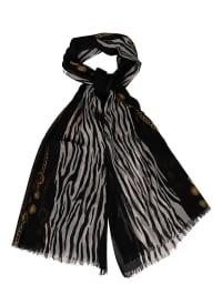 Silvio Tossi Schal in schwarz/ weiß - (B)70 x (L)180 cm