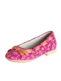 "Geox Leder-Ballerinas ""Opera"" in Pink/ Orange"