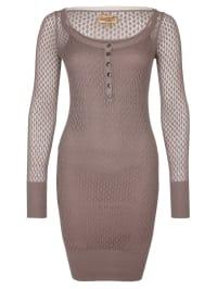 DreiMaster Kleid in Altrosa