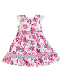 Pampolina Kleid in Weiß/ Pink/ Blau
