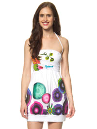 "Desigual Kleid ""Junio"" in Weiß/ Bunt"
