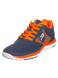 """Jack & Jones Sneaker """"Adjust FX4"""" in dunkelblau/ orange"""
