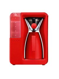 """Bodum Elektrischer Kaffeebereiter """"Bistro"""" in Rot - 1,2 l"""