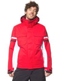 "Völkl Ski-/ Snowboardjacke ""Yellow Rush"" in Rot/ Weiß"
