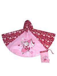 "Kidorable Regenponcho ""Princess"" in Rosa/ Pink"