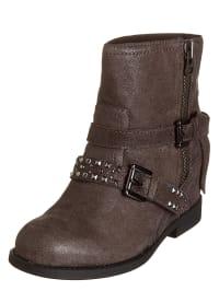 "Geox Leder-Boots ""Devil"" in braun"