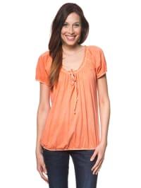 """Herrlicher Shirt """"Shawna"""" in orange"""