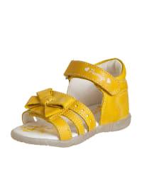 Primigi Leder-Sandalen in gelb
