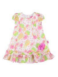 Pampolina Kleid in grün/ rosa/ bunt