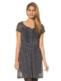 Mexx Kleid in Schwarz/ Weiß