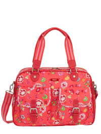 Oilily Schultertasche in rot - (B)43 x (H)30 x (T)13 cm