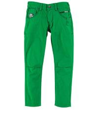 Million X Jeans mit normaler Bundweite in Grün