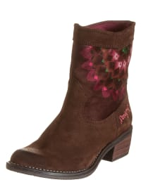 "Desigual Boots ""Cowblue"" in Braun/ Bunt"
